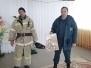Беседа  о пожарной безопасности с сотрудниками казачьей части № 123 , станицы Темнолесская , 13.02.2020 год