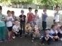 """Военно-спортивная игра """"Зарница"""", участники дети старшей группы 17.05.2019 г."""